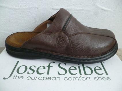 Josef Seibel Clogs Pantolette Pantoletten Sabot braun Leder 10999 NEU!