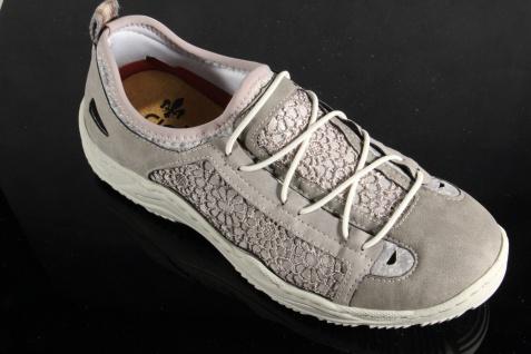 Rieker Ballerina Slipper Sneakers Halbschuhe Sportschuhe Ballerina Rieker grau L0571 NEU! d713aa