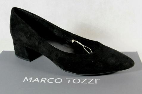 Marco Tozzi Pumps Ballerina Slipper Trotteur schwarz NEU!
