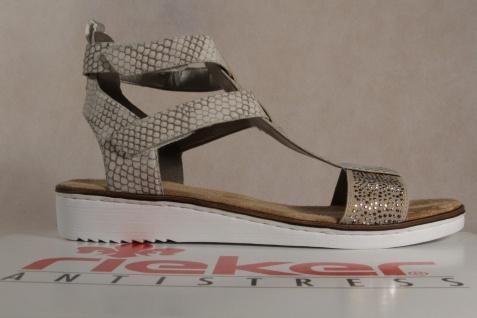 Rieker Damen Sandalen Sandaletten beige/multi NEU!! weiche Innensohle KV 63661 NEU!! beige/multi 931b09
