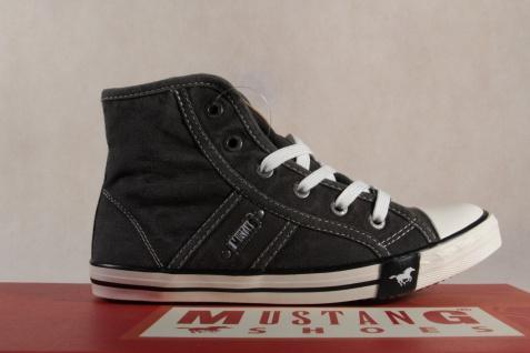 Mustang Stoff Schnürschuh Sneaker Halbschuh grau Gummisohle 5803 NEU NEU NEU Beliebte Schuhe 251ef9