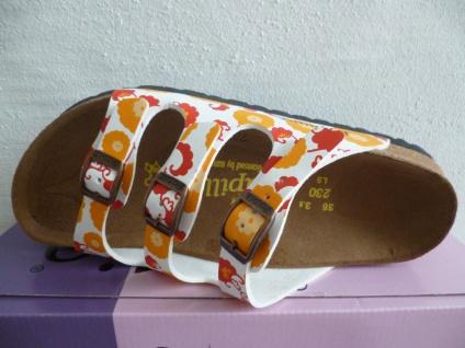 Birkenstock Papillio rot Damen Pantolette Pantoletten orange rot Papillio multi NEU! Beliebte Schuhe 3ef7f9