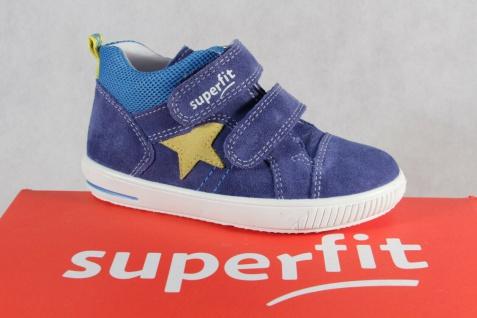 Superfit Jungen Lauflern-Stiefel Sneaker blau Leder Neu !!!
