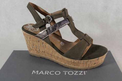Marco Tozzi Damen Sandalen Sandaletten pfeffer  NEU!!