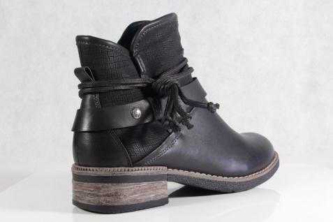 Rieker Damen Reißverschluß Stiefel Stiefelette Stiefel schwarz Reißverschluß Damen warm gefüttert NEU! 1f8fb5