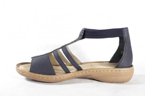 Rieker Damen Sandale Sandalen Innensohle Sandalette blau, weiche Innensohle Sandalen NEU!! bdb20d