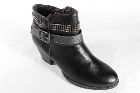 s.Oliver NEU Damen Stiefelette Stiefel Winterstiefel schwarz mit Reißverschluß NEU s.Oliver Beliebte Schuhe c18945