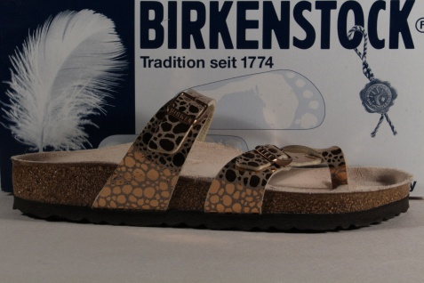 Birkenstock Gizeh Zehensteg Trenner Flor Pantolette Pantoletten kupfer Birko Flor Trenner NEU b9518e