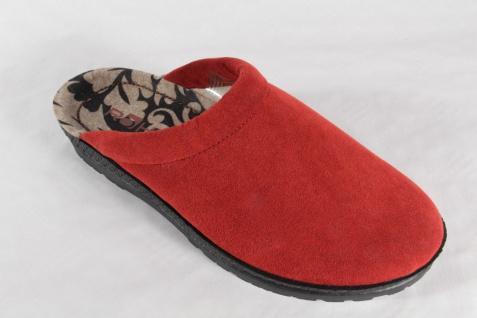 Rohde Damen NEU!! Pantoffel Hausschuhe Pantoletten rot NEU!! Damen 5080bf