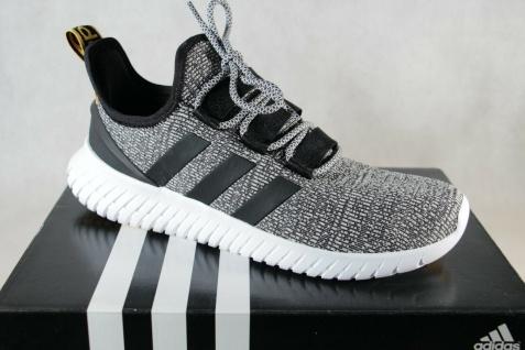 Adidas Kaptir Slipper Sneaker Sportschuhe Turnschuhe schwarz/ weiß NEU!