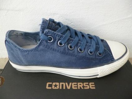 Converse All Star Schnürschuhe Sneaker Sneakers blau jeans Neu!!!