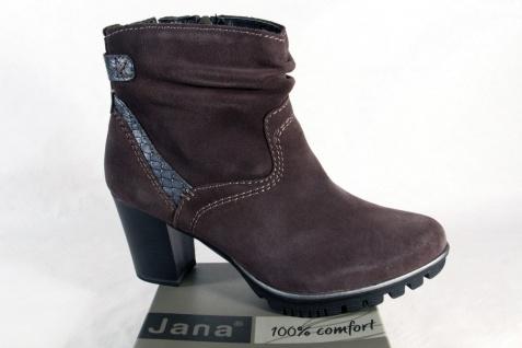 wholesale dealer 9591f aafb6 Jana Damen Stiefel, Stiefelette, Boots, Echtleder grau 25333 NEU