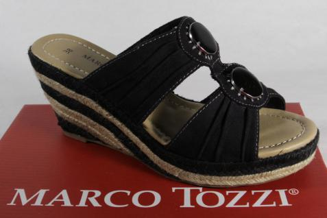 Marco Tozzi NEU! Damen Pantoletten Sandalen schwarz NEU! Tozzi e01dbb