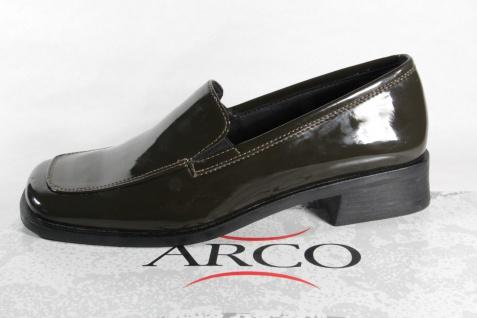 Arco Slipper Damen Slipper Arco Ballerina Halbschuhe Sneakers oliv grün NEU! 390b22