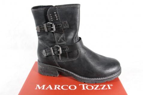 Marco Tozzi Stiefel, Schwarz, gefüttert, RV NEU 46401 !!