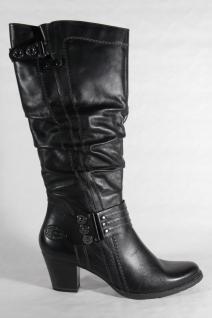 Marco Tozzi Damen Stiefel schwarz Echtleder Neu!!! Beliebte Schuhe