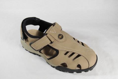 Marco Tozzi Herren Klettverschluss Sandale Sandalette beige, Klettverschluss Herren Leder NEU ebee52