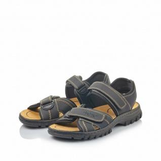 Rieker Sandale Sandalen Sandalette Sandaletten schwarz 25051 NEU