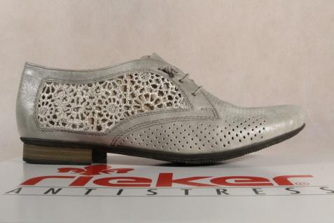 Rieker Slipper Sneakers grau Halbschuhe Sportschuhe Ballerina grau Sneakers 51928 NEU e60a25