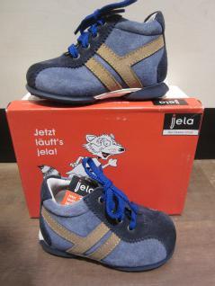 Jela LL-Stiefel blau/braun blau/braun blau/braun Lederfußbett Neu !!! b86621
