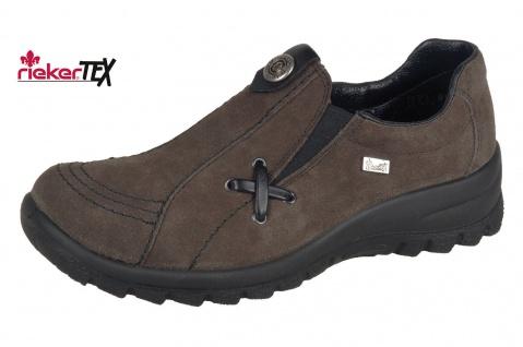 Rieker L7171 Damen Slipper Halbschuhe, Sneakers Tex Leder 2ffuU