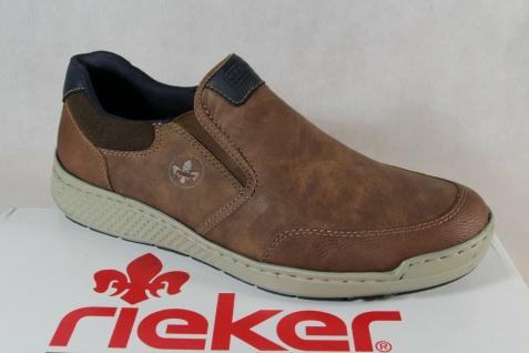 Rieker Slipper Schnürschuhe Sneaker Halbschuhe braun B5860 NEU!!