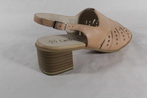 Damen Caprice Sandale beige, Echtleder Neu Lederinnensohle, Lederfutter Neu Echtleder 454e6e