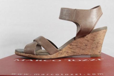 Marco Echtleder Tozzi Damen Sandalen Sandaletten Echtleder Marco pfeffer NEU!! Beliebte Schuhe 08aeef