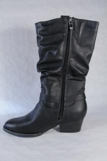 Marco Tozzi Damen RV, Stiefel Stiefeletten schwarz, leicht gefüttert, RV, Damen 25335 NEU! 82a76b