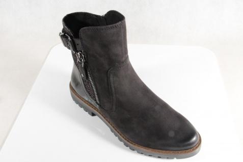Marco Tozzi Stiefelette Leder Stiefel, schwarz, Leder Stiefelette 25450 NEU!! 2163b1