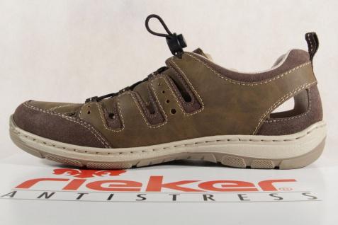 Rieker Slipper weiche Sneakers Halbschuhe braun weiche Slipper Lederinnensohle 15256 NEU 7ed50b