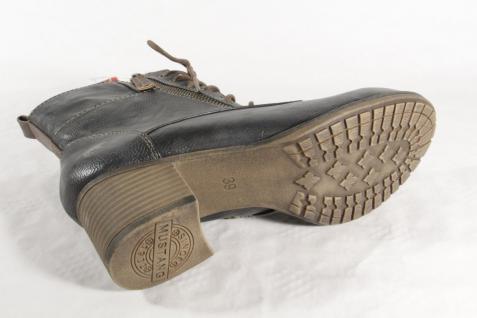 Mustang Stiefel Stiefeletten Schnürstiefel Stiefel NEU! grau 1197 NEU! Stiefel 4db07c