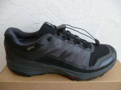 Salomon Sportschuhe Halbschuhe Sneakers XA DISCOVERY wasserdicht schwarz Neu!!!