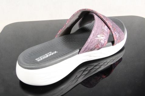 Skechers Pantoffel Damen Pantoletten Pantolette Pantoffel Skechers Sandale grau 15306 NEU! 0c5eeb