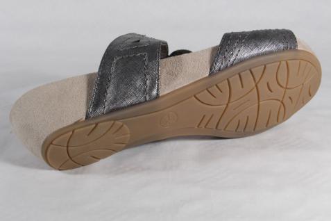 Jana Damen Pantolette Sandalen Sandaletten NEU!! grau/silber NEU!! Sandaletten 5628b0