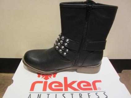 Rieker Stiefel, schwarz, kein gefüttert, Leder, warm gefüttert, kein NEU 0a40e7