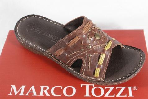 Marco Tozzi NEU! Pantolette, braun, weiche Lederinnensohle NEU! Tozzi e69a72
