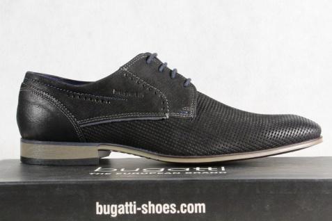 Bugatti Herren Schnürschuh Sneaker Schnürschuhe Halbschuhe Sneaker Schnürschuh schwarz NEU! dc9ee9