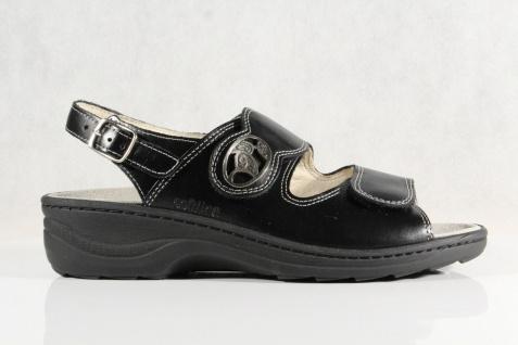 Fidelio Damen Sandale Sandalette schwarz Leder Lederfußbett NEU! Beliebte Beliebte Beliebte Schuhe 35722e