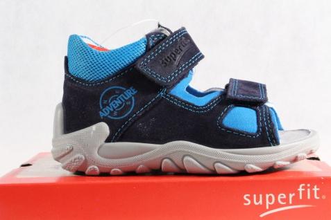 Superfit Jungen LL-Sandale Lederfußbett blau KV Lederfußbett LL-Sandale Neu !!! a3a90b