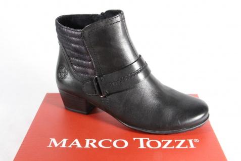 Marco Fußbett, Tozzi Stiefelette Reißverschluß, weiches Fußbett, Marco gefüttert 25003 NEU!! 681607