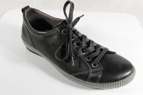 Legero Damen Leder Schnürschuhe Sneakers Halbschuhe Sportschuhe Leder Damen schwarz NEU! 67acdf