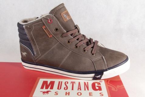 Mustang Stiefel braun Stiefel Schnürstiefel braun Stiefel gefüttert, 4096 NEU 0ec9c9