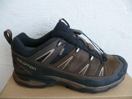 Salomon Sportschuhe Halbschuhe Sneakers X ULTRA LTR wasserdicht braun Neu!!!