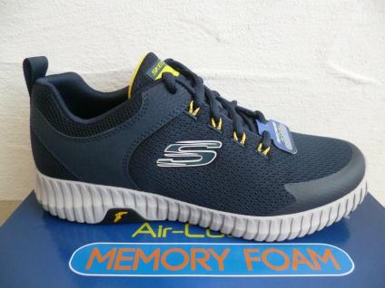 Skechers Herren Schnürschuhe Sneakers Sneaker Sportschuhe blau 232212 NEU
