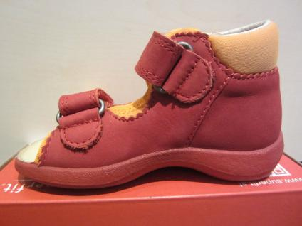 Superfit Lauflern-Sandale rot/orange KVLederfußbett !!! Neu !!! KVLederfußbett 8c6132