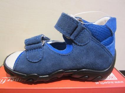 Superfit Lauflern-Sandale KV blau Leder KV Lauflern-Sandale Lederfußbett Neu !!! 9af51e