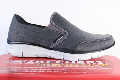 Skechers Herren 51504 Slipper Sneaker Halbschuhe grau 51504 Herren NEU! ef3a0d