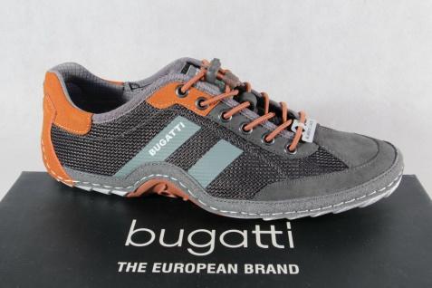Bugatti Herren Sneakers Sneaker Schnürschuhe Halbschuhe Slipper grau 92402 NEU!