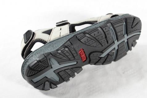 Rieker Damen Sandale Sandalen, Sandalette Sandaletten beige Leder NEU!! - Vorschau 5